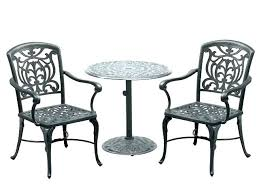 outdoor bistro table and chairs white bistro set outdoor 3 piece metal outdoor bistro set with