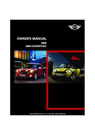 2010 mini cooper convertible owners manual just give me the damn