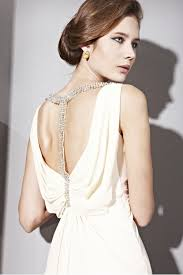 couture cream cowl neck silk ball gown 2810903