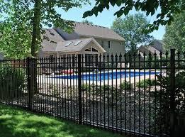 Backyard Pool Fence Ideas Best 25 Wrought Iron Fences Ideas On Pinterest Wrought Iron