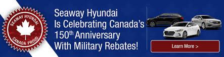 nissan canada service coupons car dealerships cornwall seaway hyundai serving cornwall on