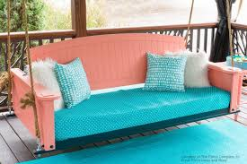 perfect porch swing beds for maximum comfort