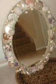 Seashell Bathroom Decor Ideas by Douglas Cloutier Sea Shell Mirror Seashell Nautical Furniture