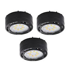 how to install under cabinet lighting hardwired amax lighting ledpl3 120v led under cabinet puck light 3 pack