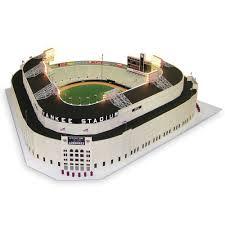 yankee stadium home run lights the museum quality 1 8 scale 1961 yankee stadium hammacher schlemmer