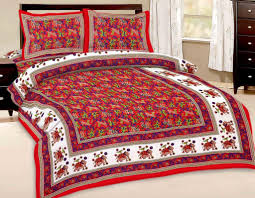 shop rajasthan animal print 100 pure cotton flat double bed sheet