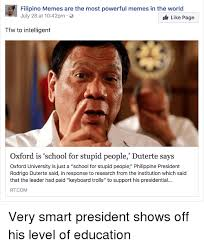 Filipino Memes - filipino memes are the most powerful memes in the world july 28 at