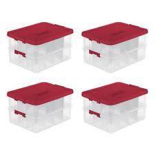 Christmas Decoration Storage Boxes Australia by Home Storage Bins U0026 Baskets Ebay
