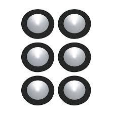 battery puck lights under cabinet puck lights 5light led white ac puck light kit brushed bronze