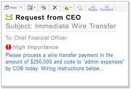 business e mail compromise u2014 fbi
