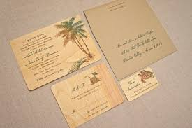 palm tree wedding invitations real wood wedding invitations palm tree vintage