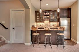 amazing basement bar love the floors the bar cabinets and the