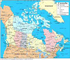 map of canada atlas atlas map of canada major tourist attractions maps