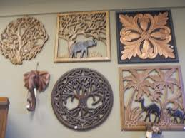 well suited ideas wood carved wall tree crate and barrel