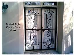 Wrought Iron Patio Doors by Page 29 French Door Patio Gate Www Metalexdoors Com Securitydoors