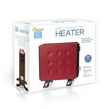 Bathroom Safe Heater by Red Mini Convection Heater Crane Design For Better Living