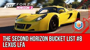 lexus lfa james edition forza horizon 2 second bucket list 8 lexus lfa walkthrough