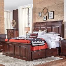 Bed Frame Drawers King Storage Beds With Drawers Humble Abode