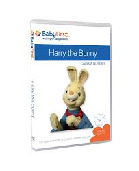 rabbit dvds harry the bunny colors and numbers dvds babyfirsttv