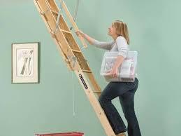 attic pulldown stairs loft louisville ladder aa229gs elite