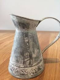 Country Shabby Chic Wedding by Details About Rustic Zinc Jug Vintage Shabby Chic Country Style