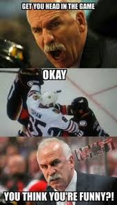Andrew Shaw Meme - when you re the goalie who wins the cup you can say whatever you