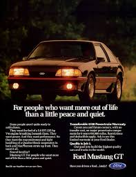 ford mustang ads ford mustang vintage car ads