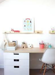 bureau chambre fille bureau chambre fille bureau en bois gris pour chambre enfant a