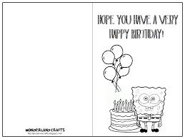free cards to print card invitation design ideas printable folding birthday card