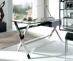 modern glass work desk glass office desk alluring white glass office desk with modern glass