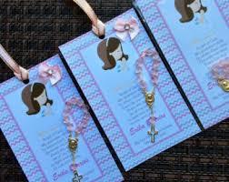 1st communion favors 12 communion favors with mini rosaries boy