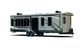 park models and destination trailers sandpiper 393rl is here