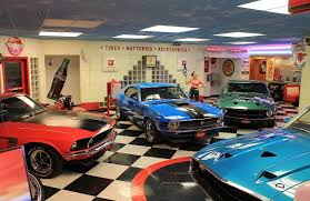 mustang garage car collections pinterest muscles ford and cars dream garage