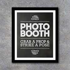 photo booth sign photo booth sign and directional signs printable instant