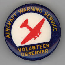 aircraft warning service saw few enemies but saved many friends