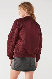 alpha industries ma 1 er jacket urban outfitters