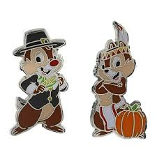 thanksgiving pin your wdw store disney thanksgiving pin chip and dale pilgrim
