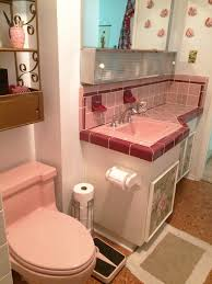 best pink bathroom vintage ideas on pinterest baby pink module 50