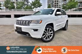 jeep cherokee grey 2017 jeep grand cherokee for sale in richmond british columbia