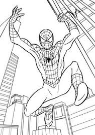 spiderman coloring pages free cartoon spiderman