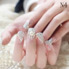 online shop 24pcs 3d french pre design beautiful false nails tips
