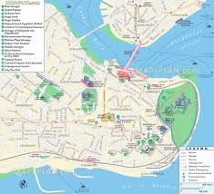 Istanbul World Map by Istanbul Map Old Town U0026 Downtown Area List Of Must Do Hotspots