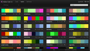 capture your color inspirations with adobe color cc adobe