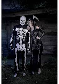 Skeleton Couple Halloween Costumes by Women U0027s Bone Appetit Skeleton Long Dress Costume