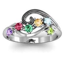 grandmother rings 2 to 5 hugs and kisses xoxo ring october ring and