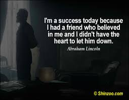 abraham lincoln quotes 009 why i am a success today