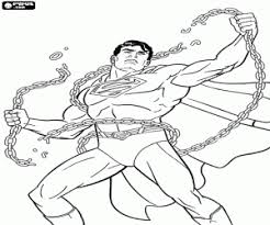 superman coloring pages printable games