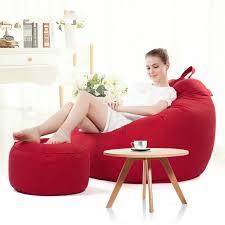 bean bag sofa bed lazy sofa bean bag with pedal creative single sofa bedroom living