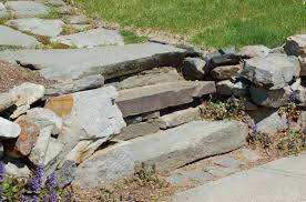 Average Cost Of Flagstone by Building Landscape Steps For Easy Access Outdoors