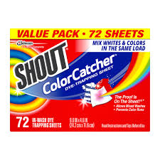 amazon com shout color catcher dye trapping in wash cloths 24